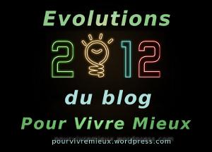 Evolutions du blog Pour Vivre Mieux